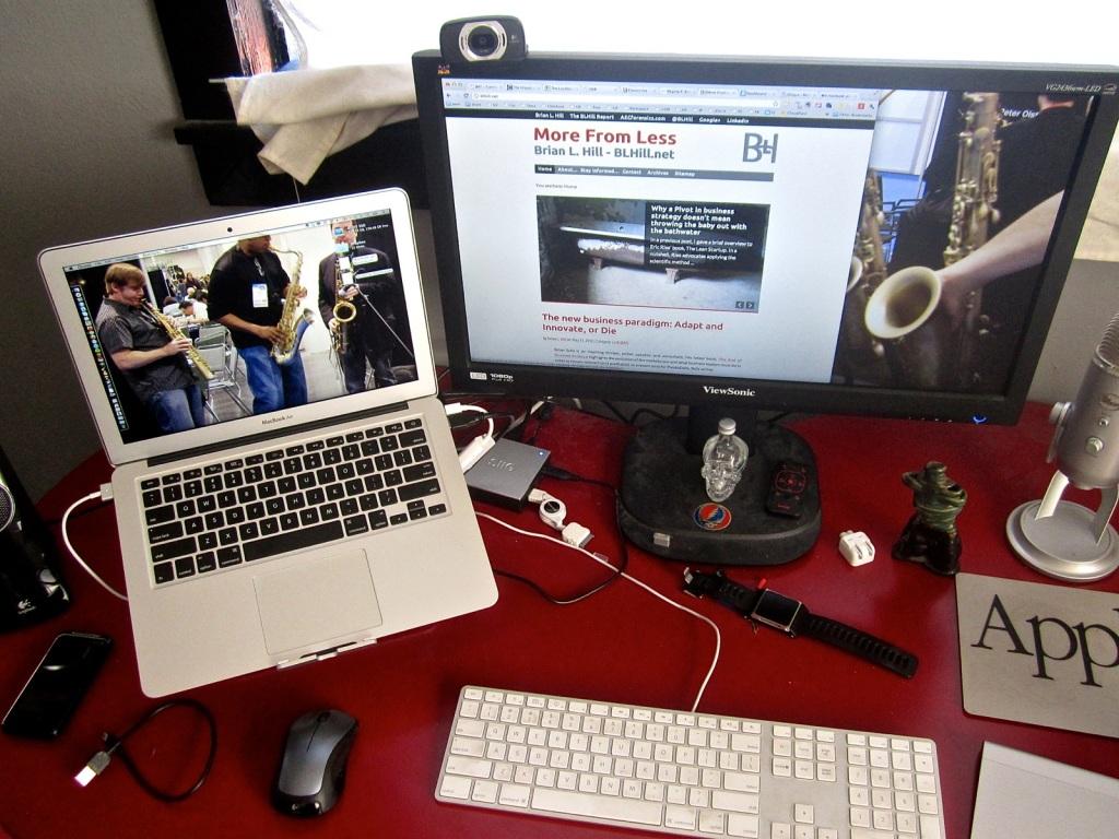 MacBook Air - @BLHill