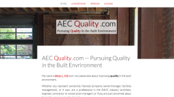 Visit AEC Quality .com and learn how to deliver projects that are truly sustainable