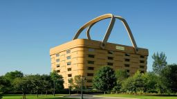 Basket-shaped building, former HQ for basket company, not finding many buyers